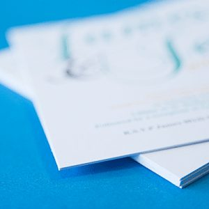 business card design and print in suffolk