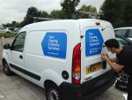 sign writing in bury st edmunds
