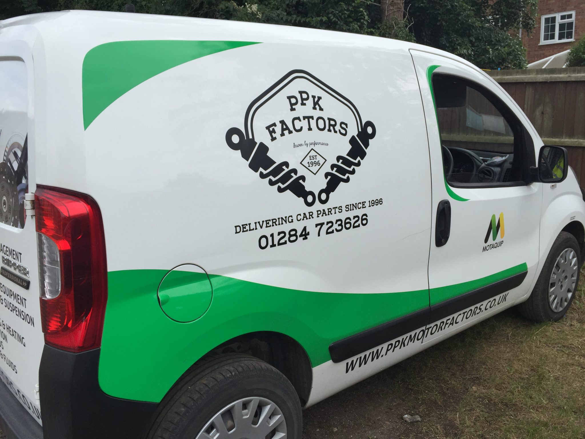 PPK Vehicle Graphics In suffolk