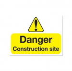 danger construction poster example in suffolk