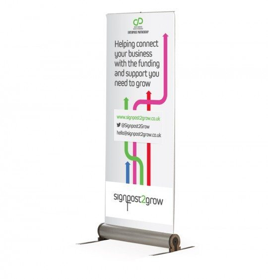 roller banner printing in bury st edmunds
