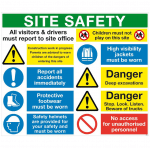 safety signage print and images in suffolk