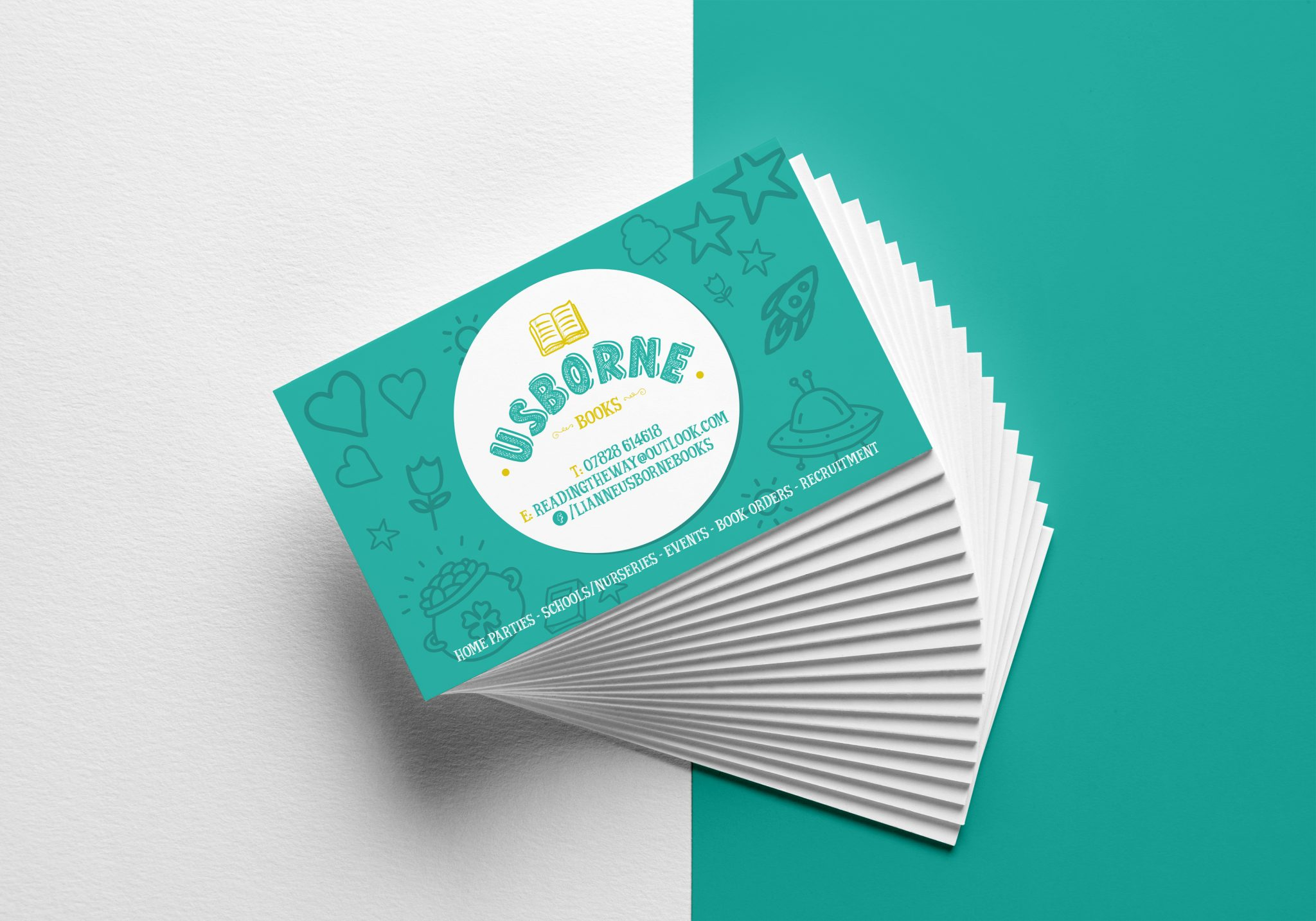 Usborne Books Loyalty Cards | Limelight Design & Print